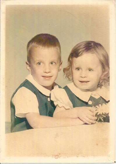 Photo of Bruce and Carrie Whealton - sister and brother